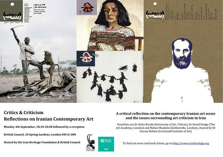 ((Un)doing) Art Criticism inIran